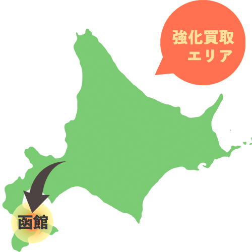 買取函館エリア